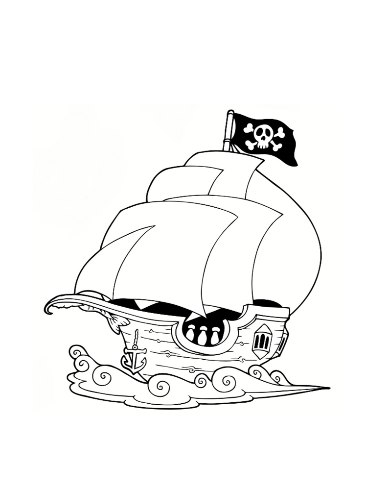 Dessin à Colorier Playmobil Beau Galerie Coloriage Pirate 25 Dessins   Imprimer