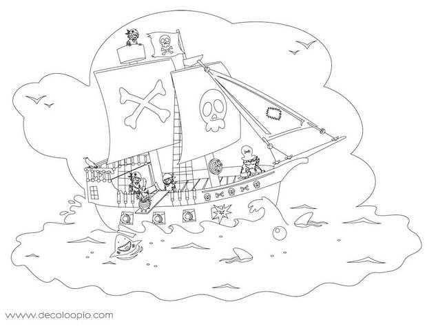 Dessin à Colorier Playmobil Frais Images Coloriage Bateau Pirate Avec Pirates Meilleures Idées Coloriage