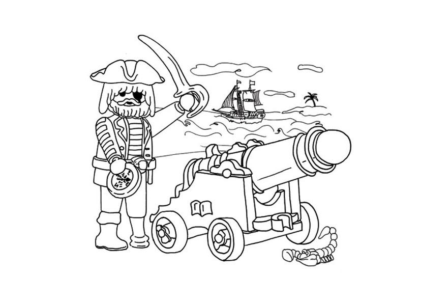 Dessin à Colorier Playmobil Nouveau Collection Coloriage Bateau Pirate Avec Pirates Meilleures Idées Coloriage