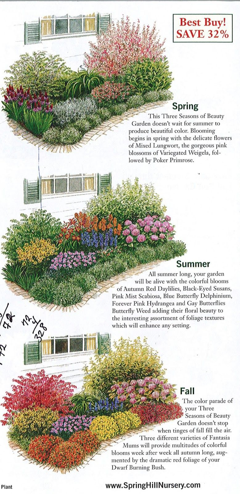 Diva 1 2 3 Beau Photos Gardening Garden Plan A Week Week 2 Three Seasons Of Beauty