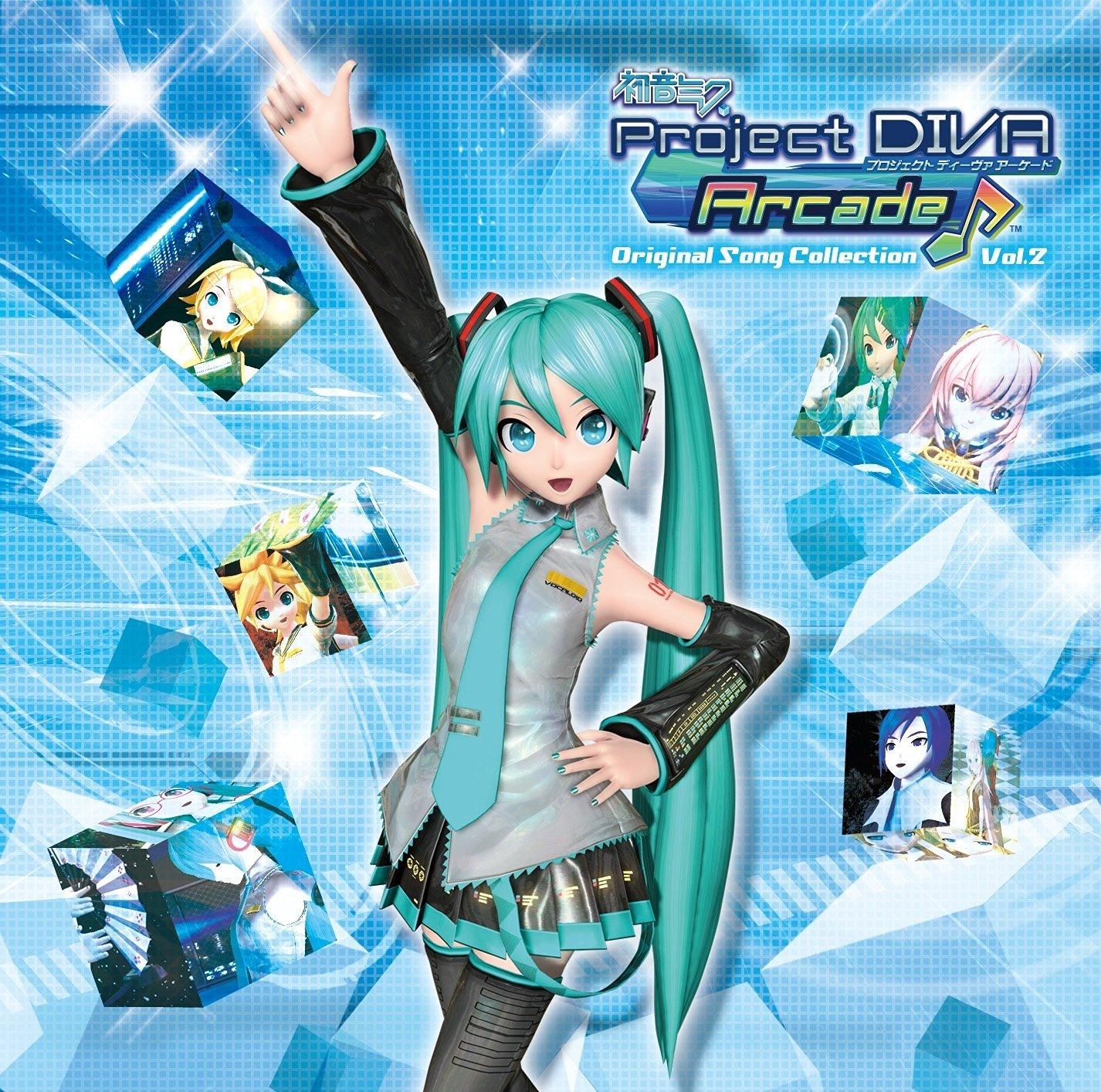 Diva 1 2 3 Unique Collection 初音ミク Project Diva Arcade original song Collection Vol 2