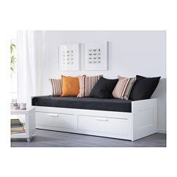 Divan Hemnes Ikea Beau Photographie Brimnes Daybed Frame with 2 Drawers White Pinterest