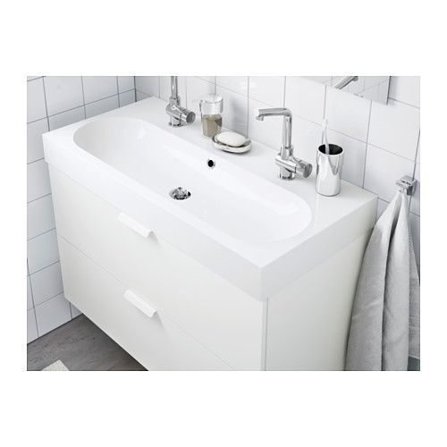 Double Vasque Ikea Unique Stock Br…viken Lavabo Blanc