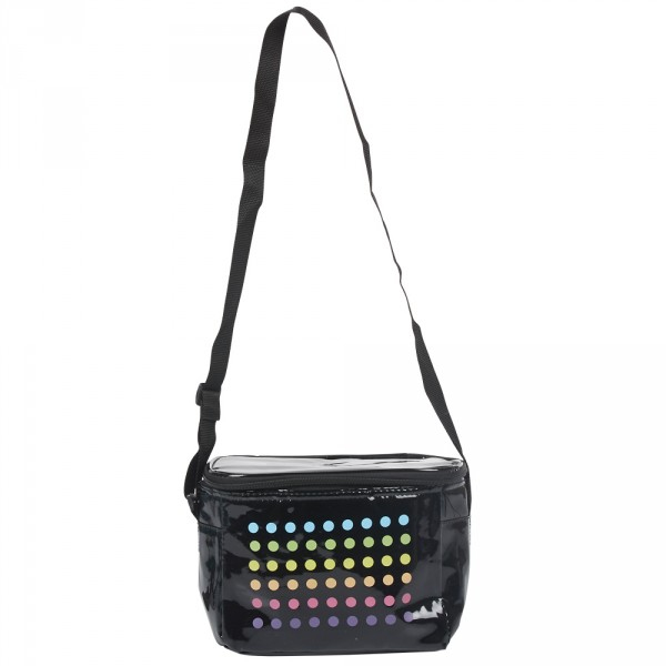 Douchette Lumineuse Gifi Luxe Images Sac Besace isotherme Noir Design Pois Multicolores 3 4 L Glaci¨re