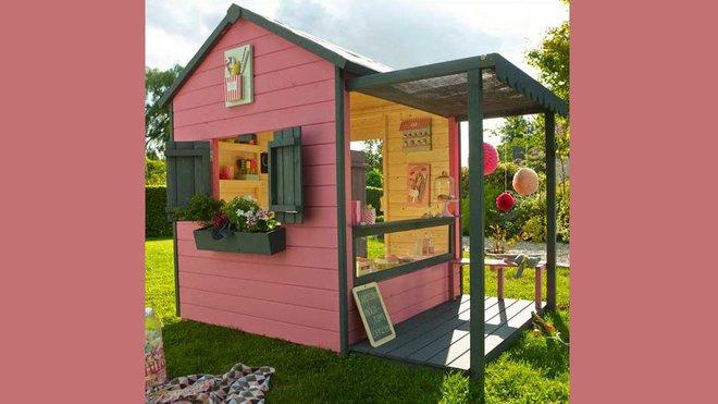 Echelle De toit Leroy Merlin Beau Images Une Cabane Pour Enfants Dans Le Jardin