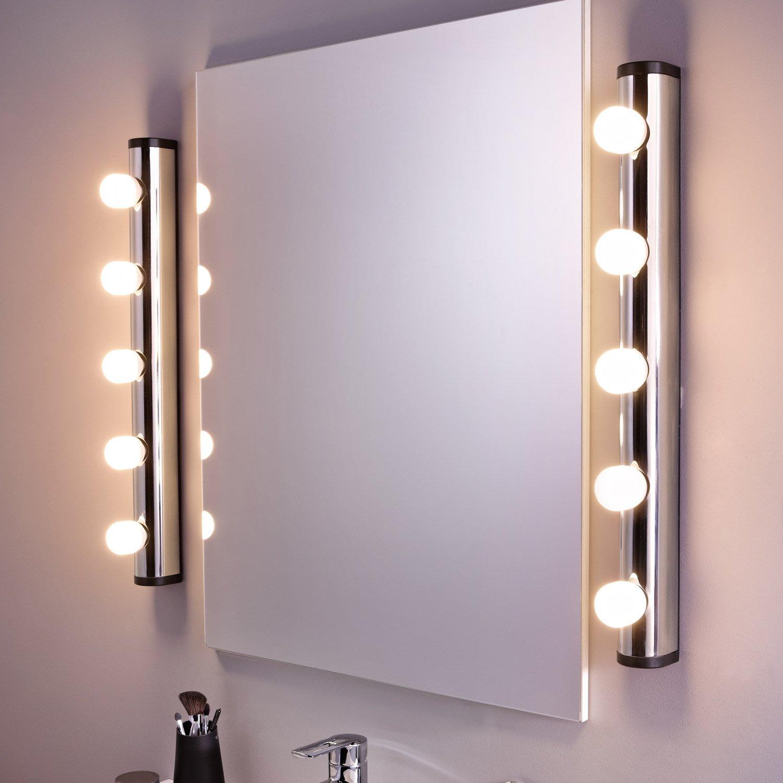 éclairage Salle De Bain Leroy Merlin Nouveau Photos Applique Liz Sans Ampoule 5 E14 Leroy Merlin Con Ampoule Miroir