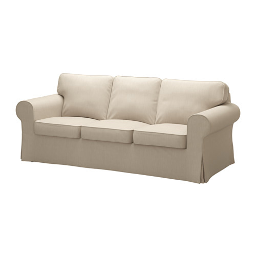 Ektorp 3 Places Frais Collection Ektorp sofa Cover nordvalla Dark Beige Pinterest