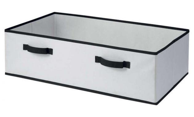 Emporte Piece Rectangulaire Gifi Luxe Stock Boite Plastique De Rangement sous Lit A Roulettes Bo Te Plastique