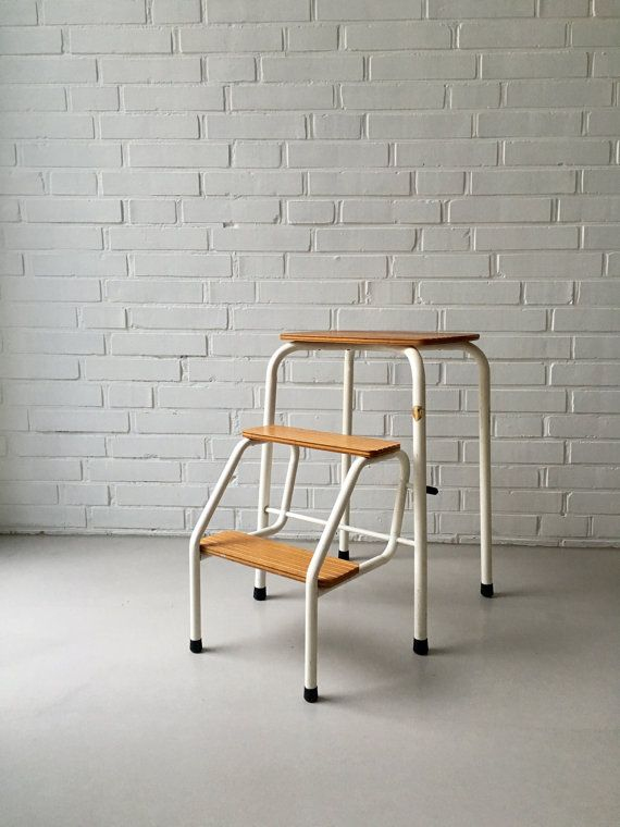 Escabeau Bois Ikea Frais Photos Vintage Step Ladder Step Stool 50s 60s Folding Bauhaus Household