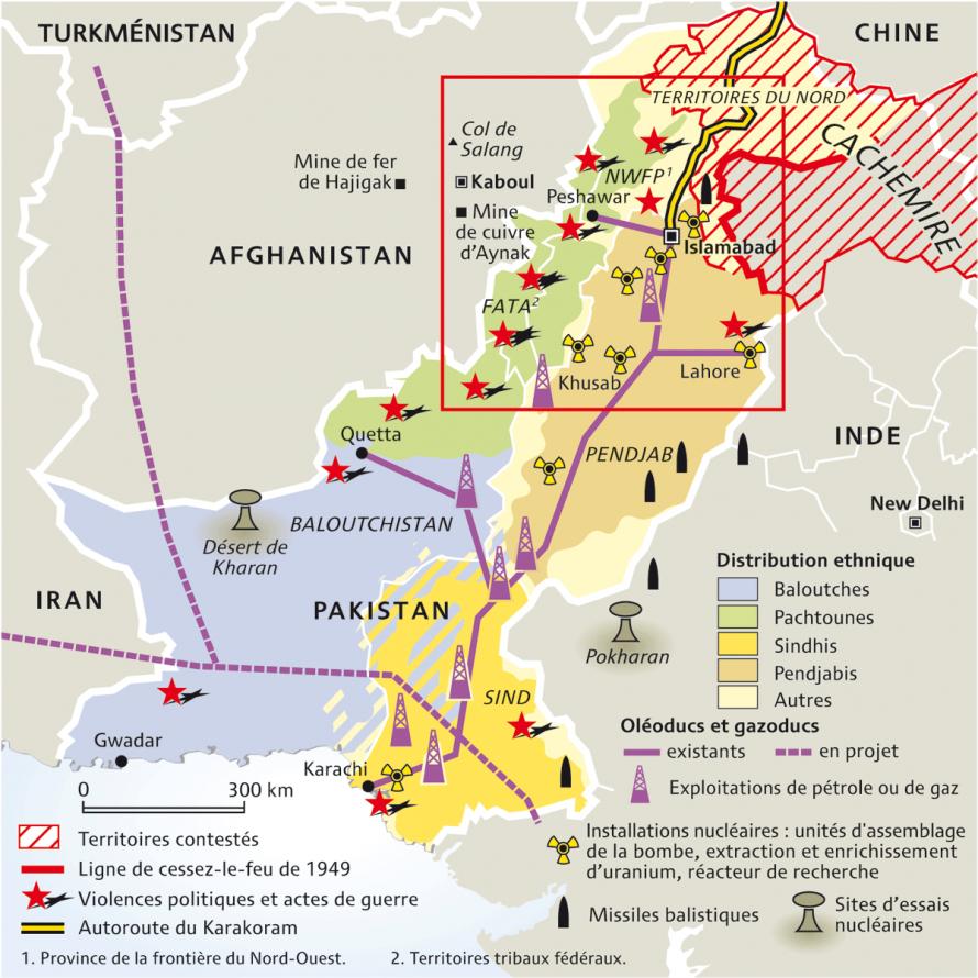 Espace nord Ouest Élégant Image Pakistan En Guerre Sur Deux Fronts Et Ethniquement Divisé Par