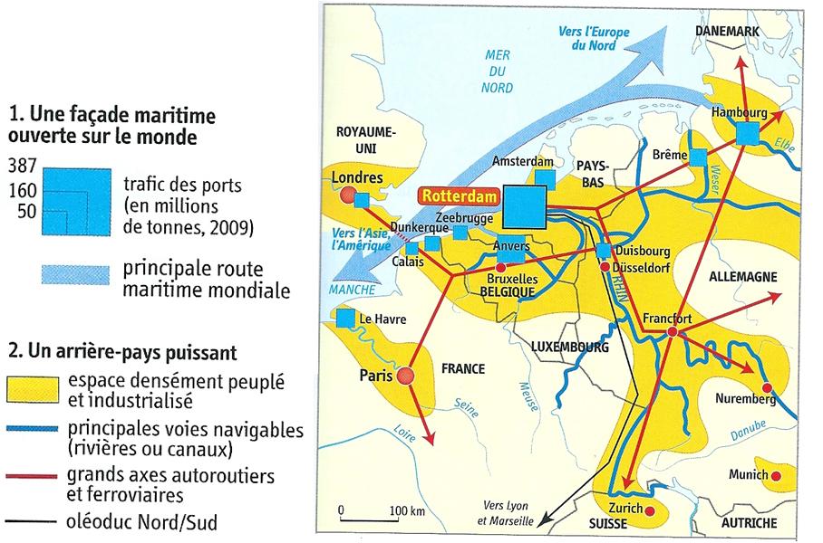 Espace nord Ouest Frais Stock Les Espaces Maritimes Approche Géostratégique