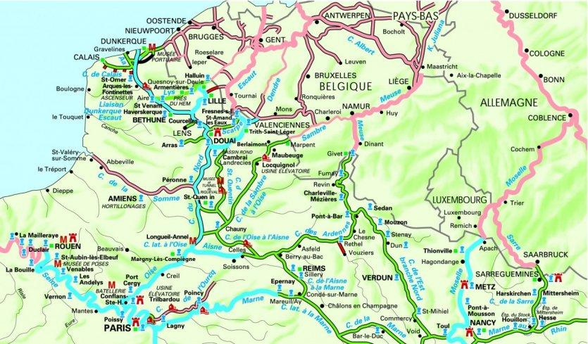 Espace nord Ouest Impressionnant Photos Le Guide Pratique Petit Futé tourisme Fluvial nord