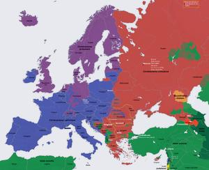 Espace nord Ouest Meilleur De Stock Europe Du Sud — Wikipédia