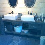 Etabli Meuble Salle De Bain Luxe Photos Etabli De Menuisier Transformé En Meuble De Salle De Bain Avec