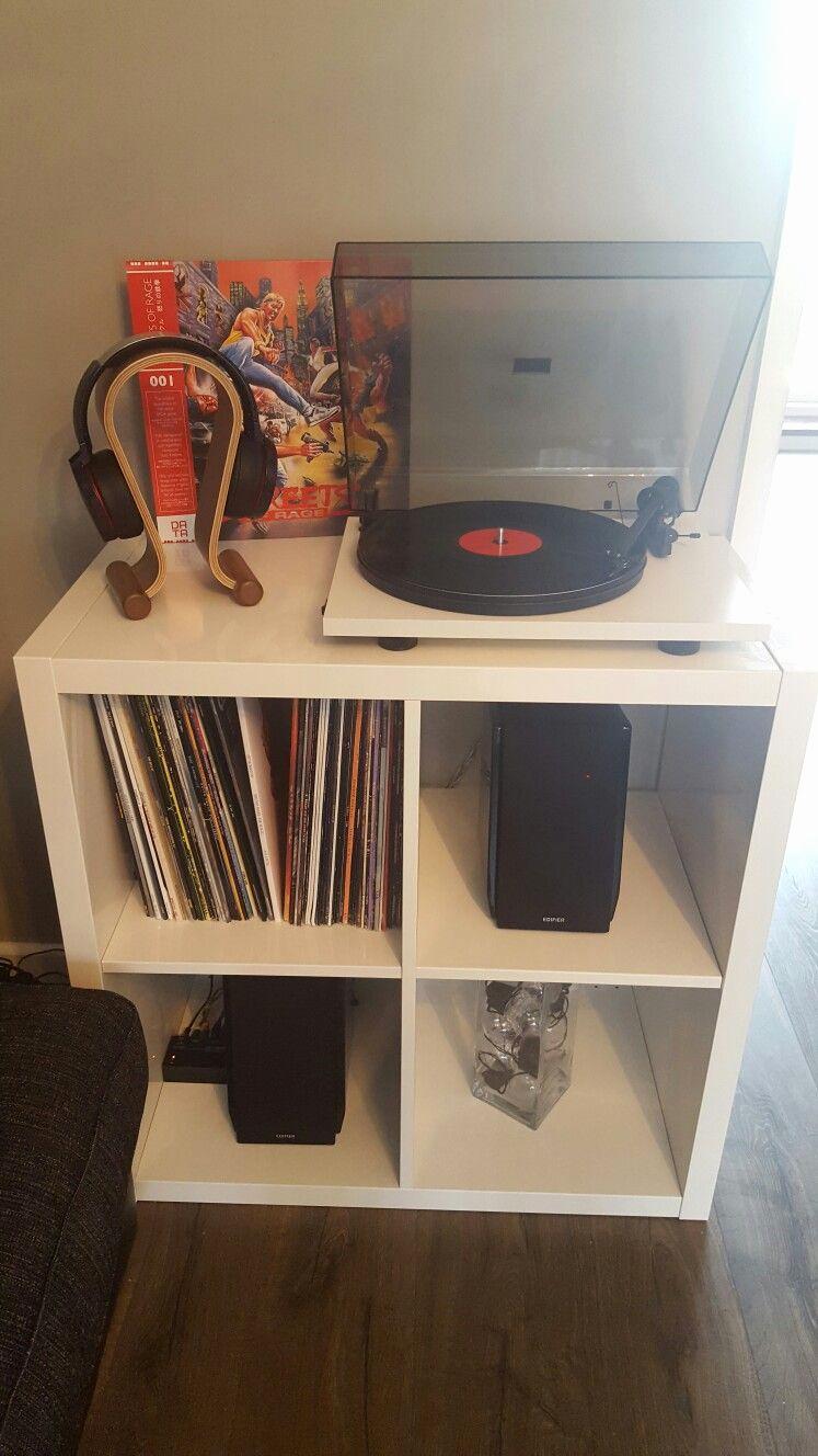 Etagere Plexiglas Ikea Unique Photographie Etagere Plexiglas Ikea élégant Ikea Kallax Turntable Setup Audio