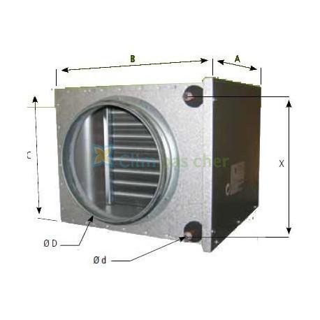 Extracteur D Air A Pile Frais Image atlantic Batterie Eau Chaude Raccord Circulaire D250 Bct 250
