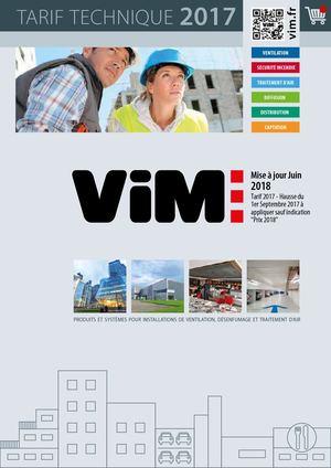 Extracteur D Air à Pile Frais Images Calaméo Vim Catalogue Technique 2017
