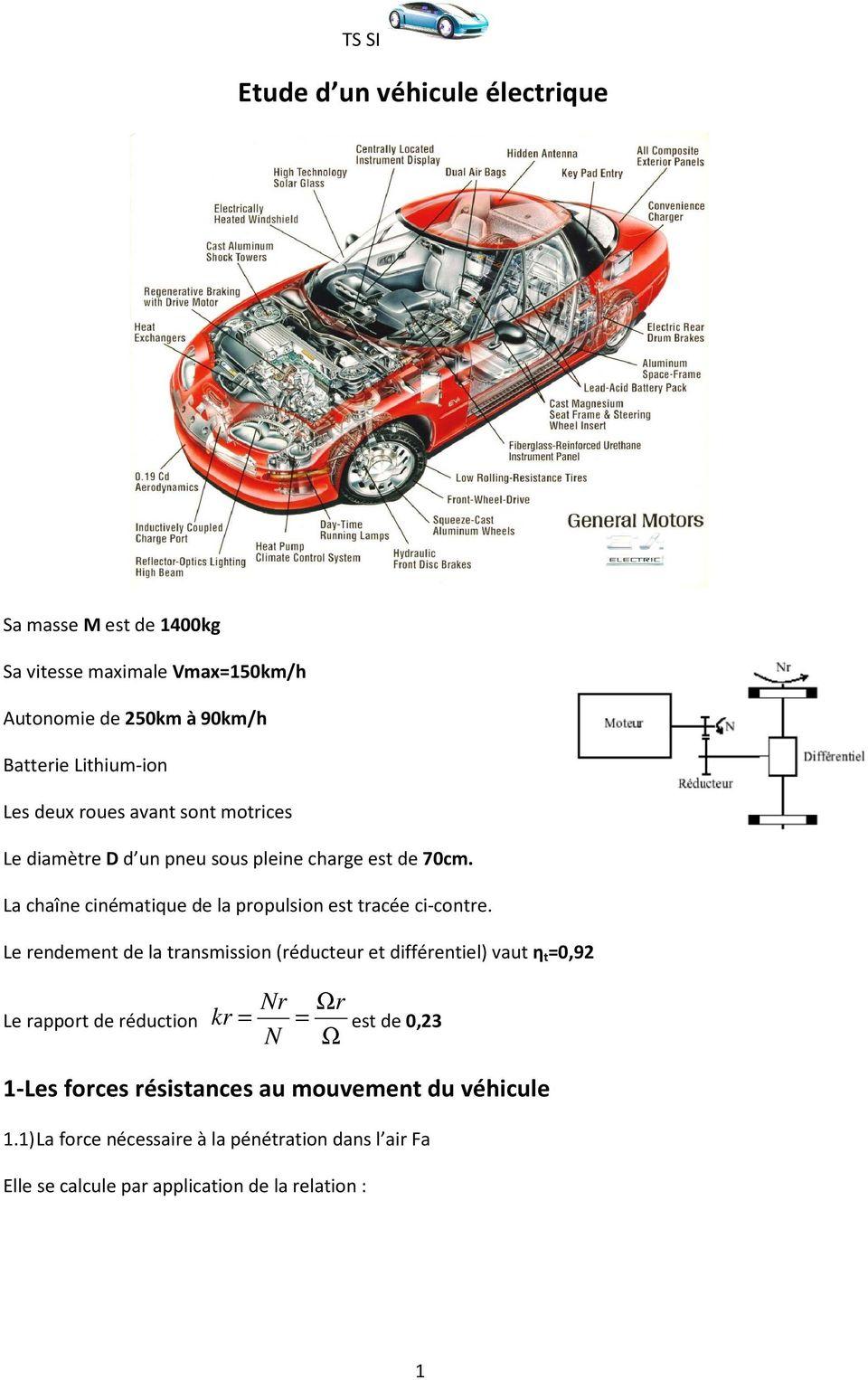 Extracteur D Air à Pile Nouveau Images Etude D Un Véhicule électrique Pdf