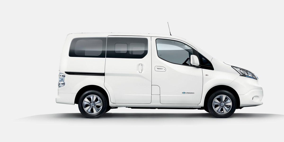 Extracteur D Air à Pile Nouveau Photographie Nissan E Nv200 Evalia Voiture électrique 7 Places Et Ludospace