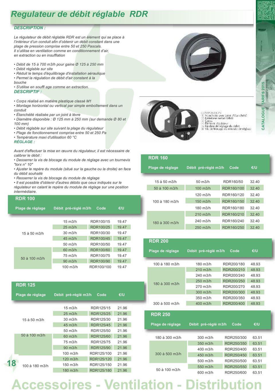 Extracteur D Air à Pile Nouveau Stock Accessoires Ventilation Distribution Pdf