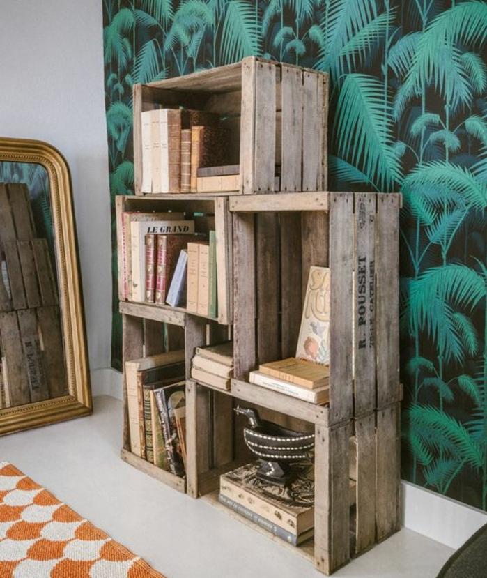 Fabriquer Etagere Salle De Bain Luxe Images ▷1001 Idées Pour Fabriquer Une étag¨re En Ca Te soi Mªme