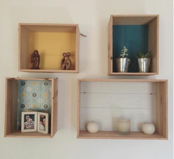 Fabriquer Etagere Salle De Bain Nouveau Stock ▷1001 Idées Pour Fabriquer Une étag¨re En Ca Te soi Mªme