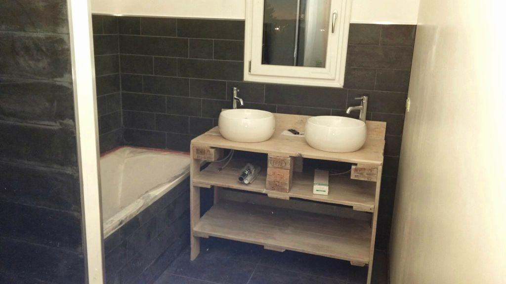 meuble de salle de bain discount lavabo totem carr cramique blanc x cm line with meuble de. Black Bedroom Furniture Sets. Home Design Ideas