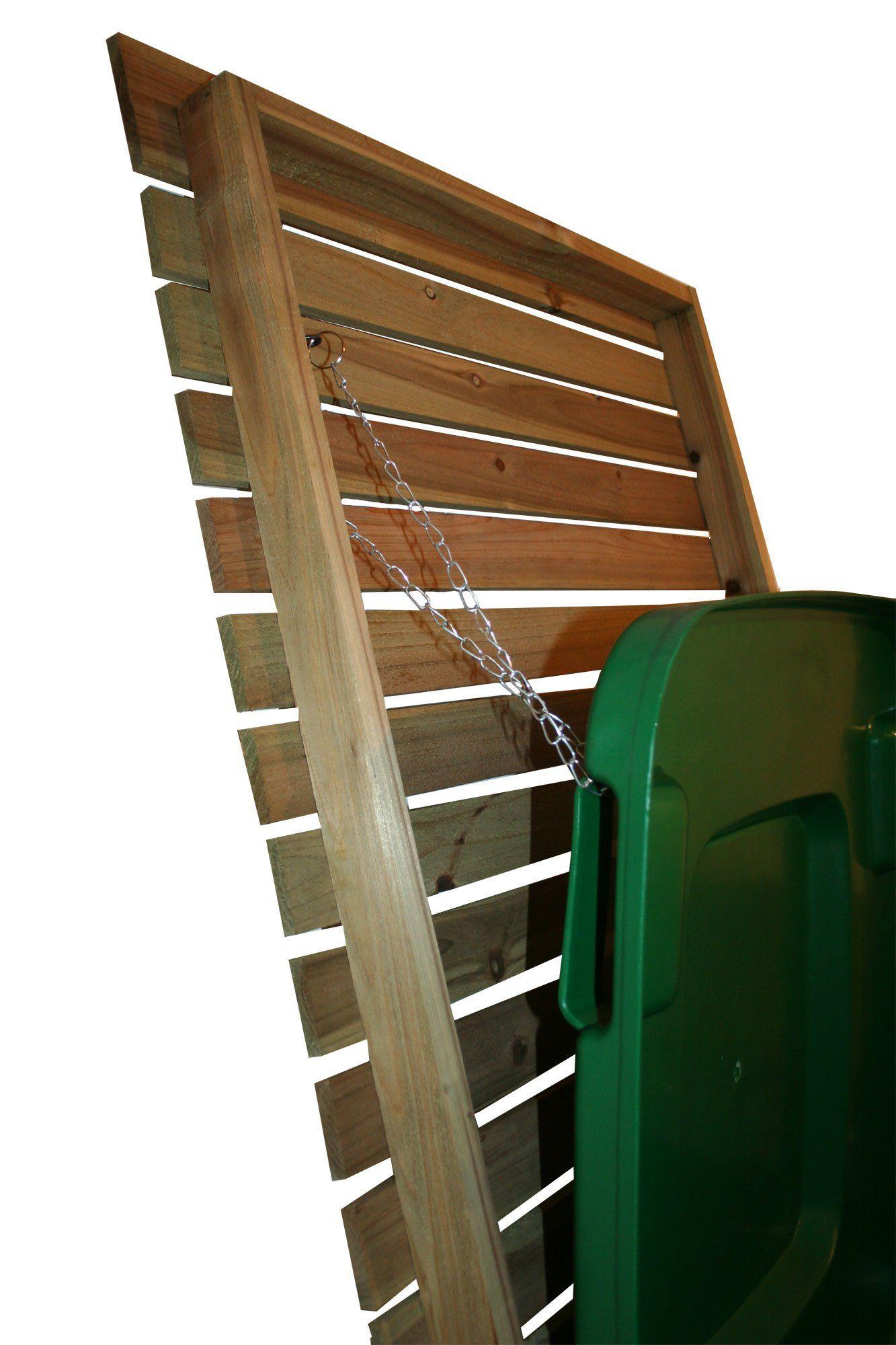 Fabriquer Un Cache Poubelle Impressionnant Image Cache Poubelle Double Sur Roulettes Pour L Extérieur Bois