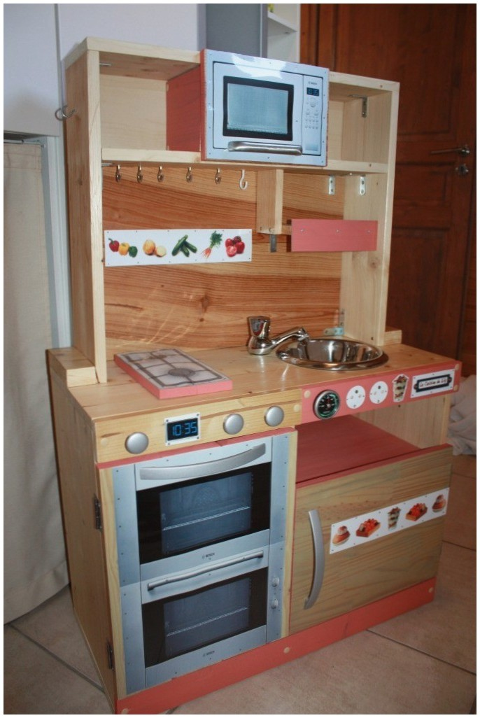 Faire Une Cuisine En Bois Jouet Luxe Image 16élégant Cuisine Jouet En Bois Intérieur De La Maison