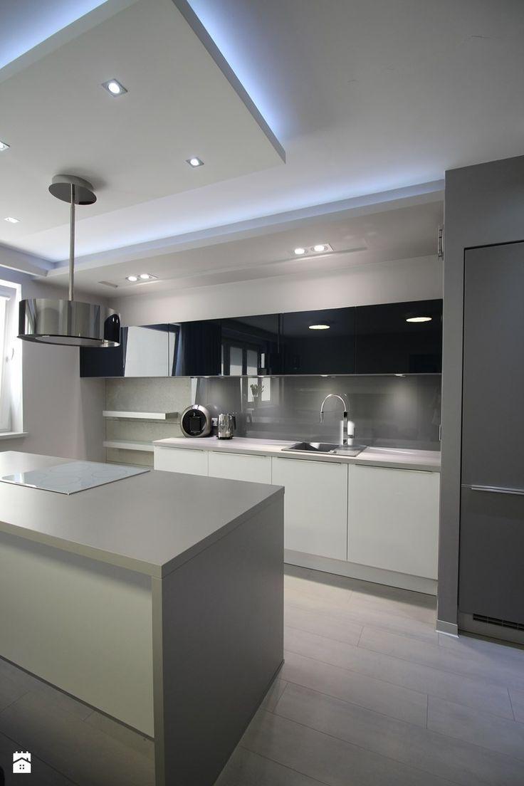 Faux Plafond Cuisine Design Luxe Galerie Modern Kitchen Design Zdjęcie Od Loft Art