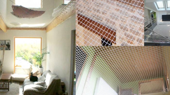 Filet Tendu Pour Mezzanine Luxe Photographie Beautiful Filet Garde Corps Escalier S Joshkrajcik