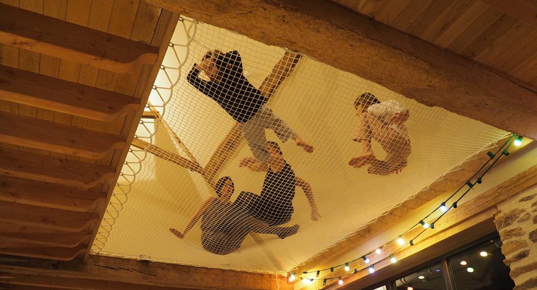 Filet Tendu Pour Mezzanine Nouveau Photos Filet De Catamaran Affordable Super Chambre sous Ble Filet De