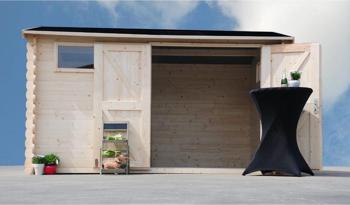 Garage Bois Auchan Frais Stock Abris Bois Avec Auvent Amol 7 92m² Prix 999 00 € Chez Auchan
