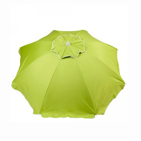 Gifi Drap Housse Beau Image Parasol De Plage Rond Uni Vert Parasol Plage Drap De Plage