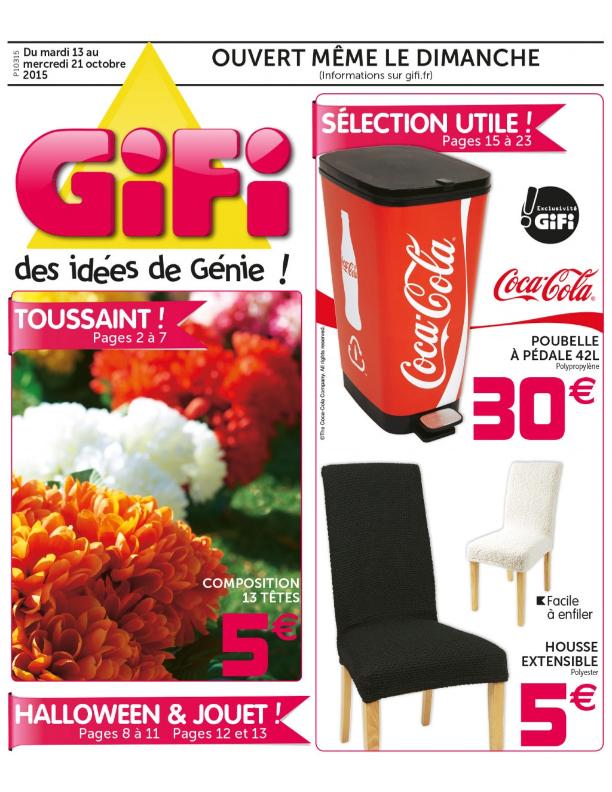 Gifi Housse De Clic Clac Luxe Stock Gifi – toussaint Et Halloween