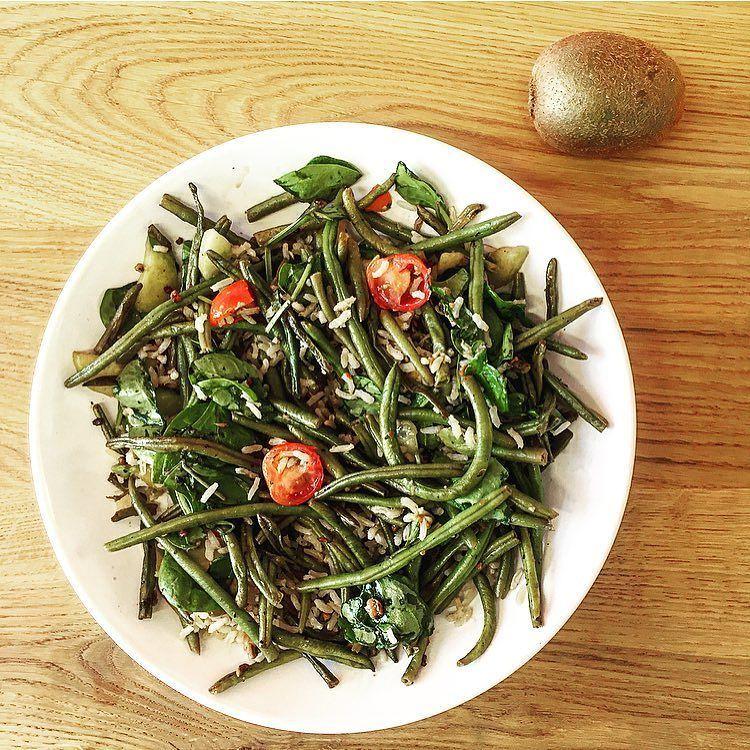 Haricots Verts Dessin Beau Photos En Manque D Idée Pour Vos Repas La Salade Riz Plet Haricots