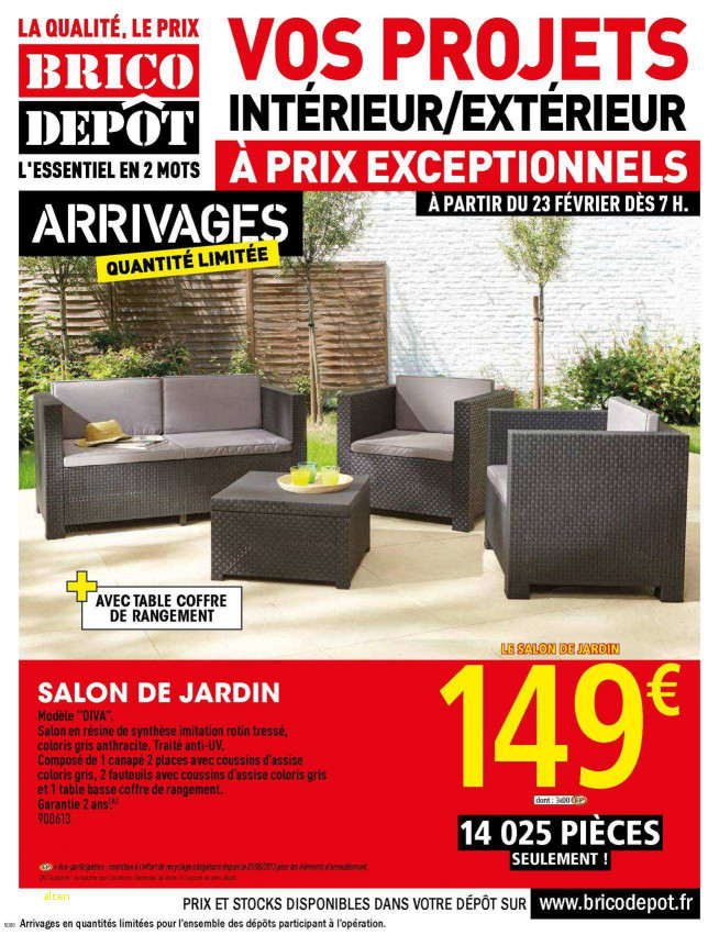 Horaire Brico Depot tours Unique Galerie 29 Charmant Table De Jardin Brico Depot Mod¨le