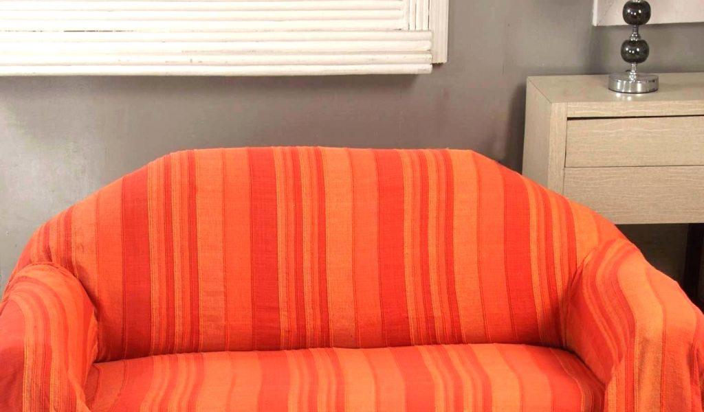 Housse Canapé 3 Places Gifi Beau Galerie Jetee De Canape Jetac Lit Ou Canapac Morocco Rayures orange Jete Con