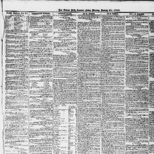 Housse Canapé Alinéa Beau Photos New orleans Daily Crescent [new orleans La ] 1851 1866 January