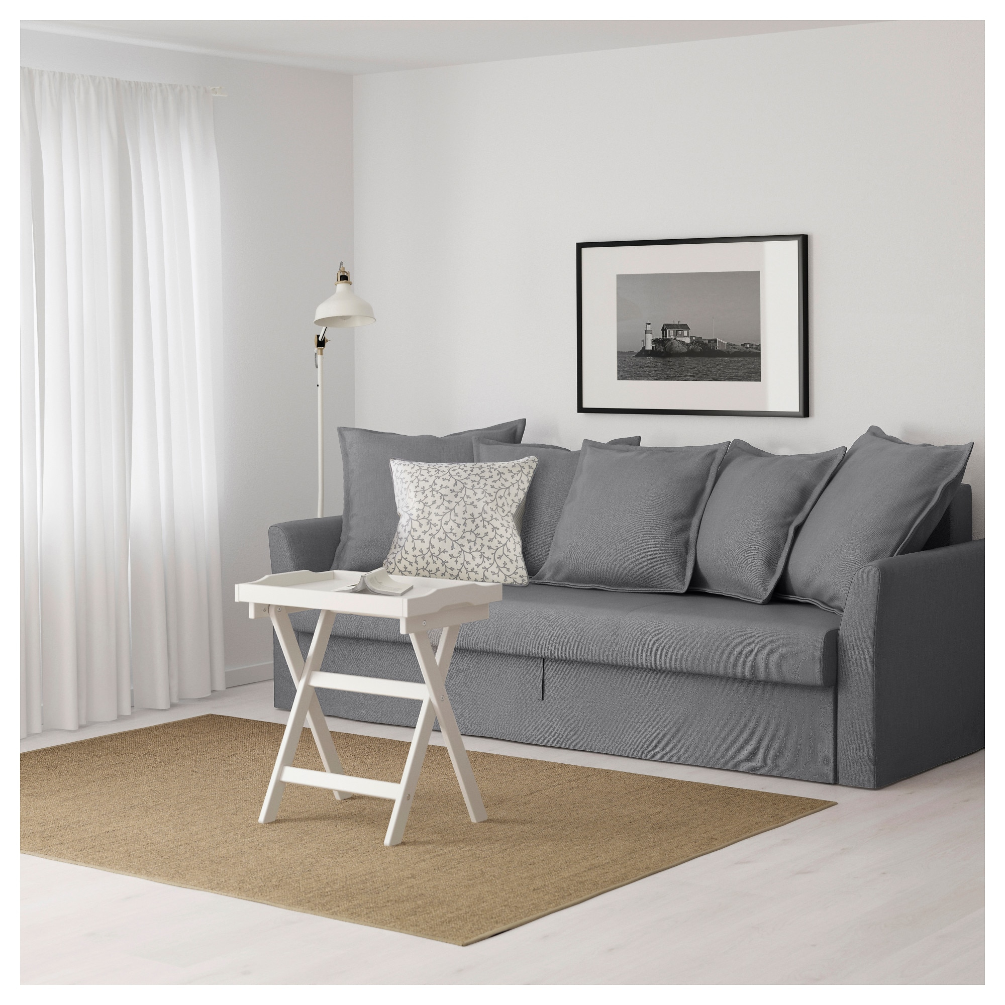 Housse Canape Ikea Ancien Modele Impressionnant Image Holmsund Convertible 3 Places orrsta Blanc Gris Clair Ikea
