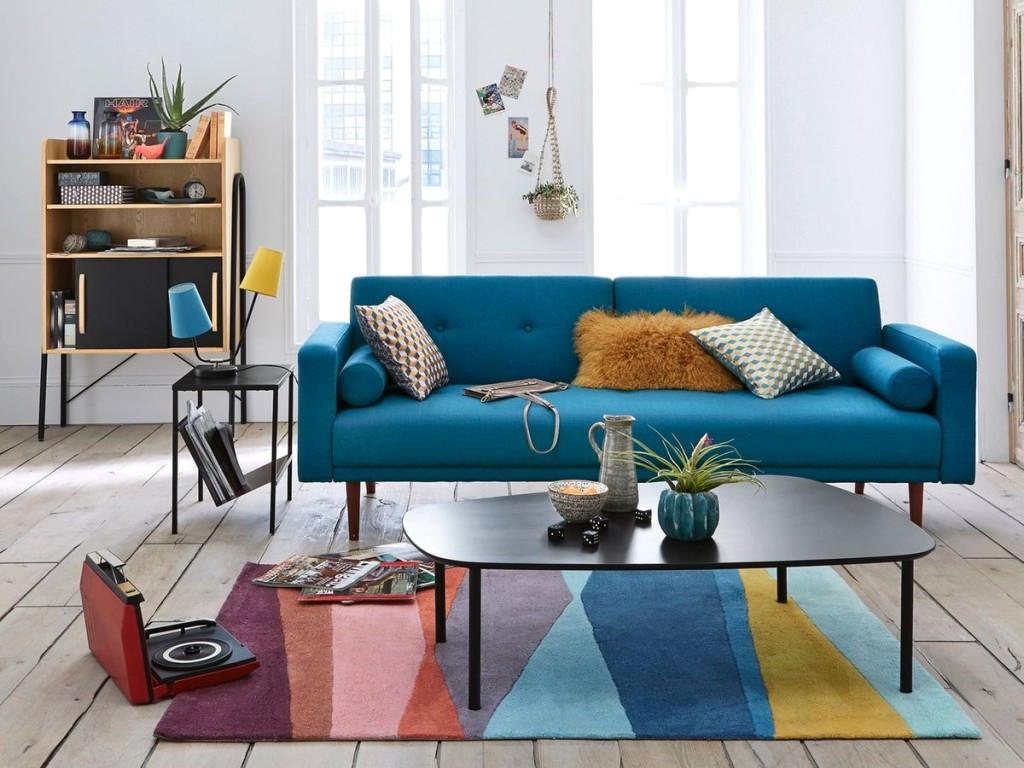 Housse Clic Clac Bleu Canard Impressionnant Collection Retro Idées Salle Bains De