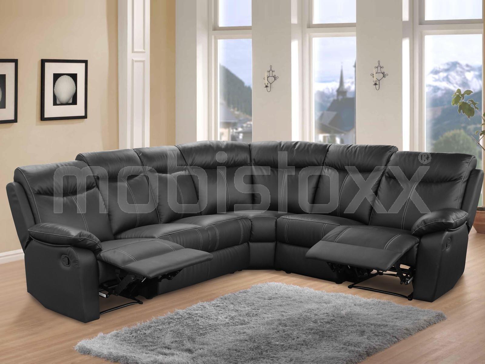 Housse De Canapé Relax 3 Places Luxe Photos Canap D Angle En Cuir Noir