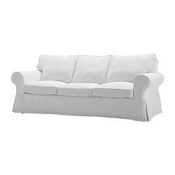 Housse Ektorp Convertible 3 Places Luxe Image Ektorp Cover Three Seat sofa Blekinge White Pinterest