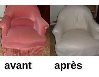 Housse Fauteuil Voltaire Beau Photos Relooking D Un Fauteuil Crapaud Pour 15 € Fauteuil Recouvrir