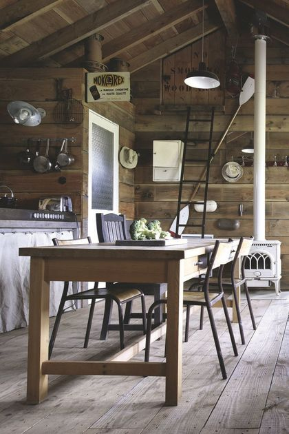 Idee Deco Interieur Cabane En Bois Beau Galerie Cabane En Bois Habitable De 90m2 En Bretagne C´té Maison