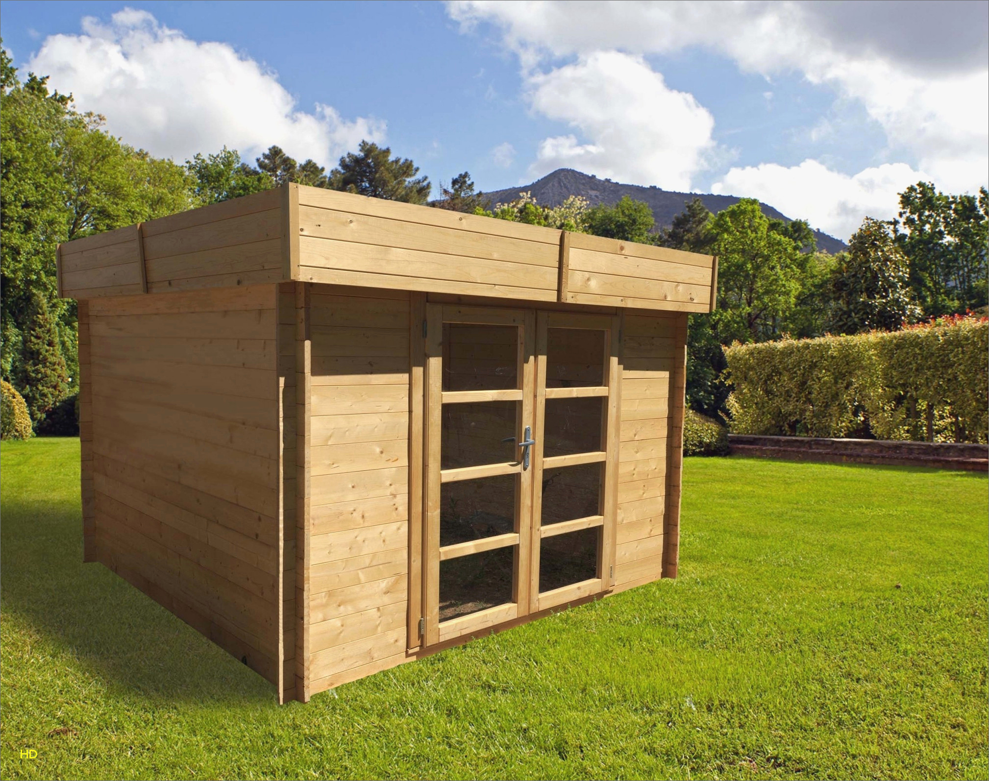 Idee Deco Interieur Cabane En Bois Beau Stock Que Faire Dans Le Jardin Luxe Abri De Spa Beau Jardin Bois New