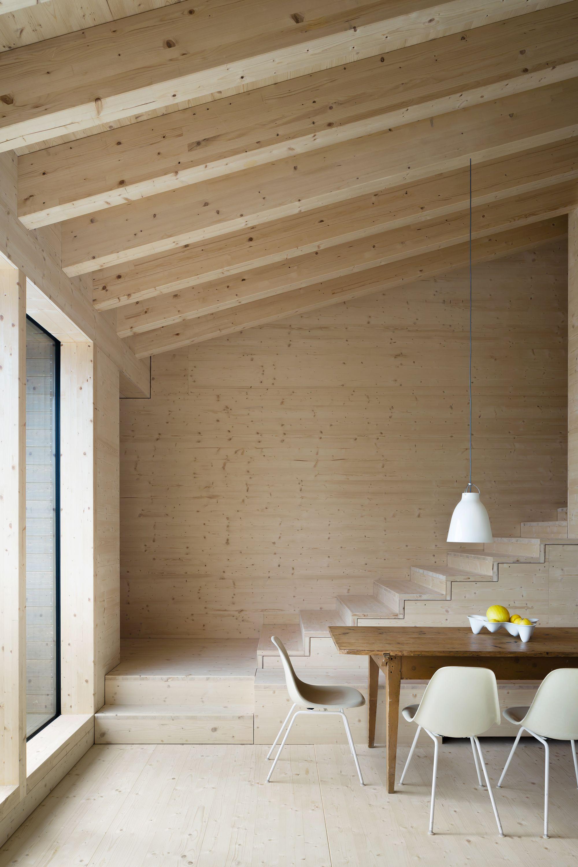Idee Deco Interieur Cabane En Bois Élégant Photos Cleverly Placed Caesuras Holiday Home In Oberreute Detail Online