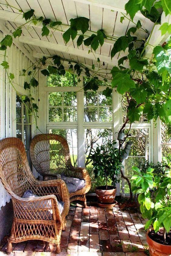 Idee Deco Interieur Cabane En Bois Élégant Photos Porch Deck Patio Garden Outdoor Space