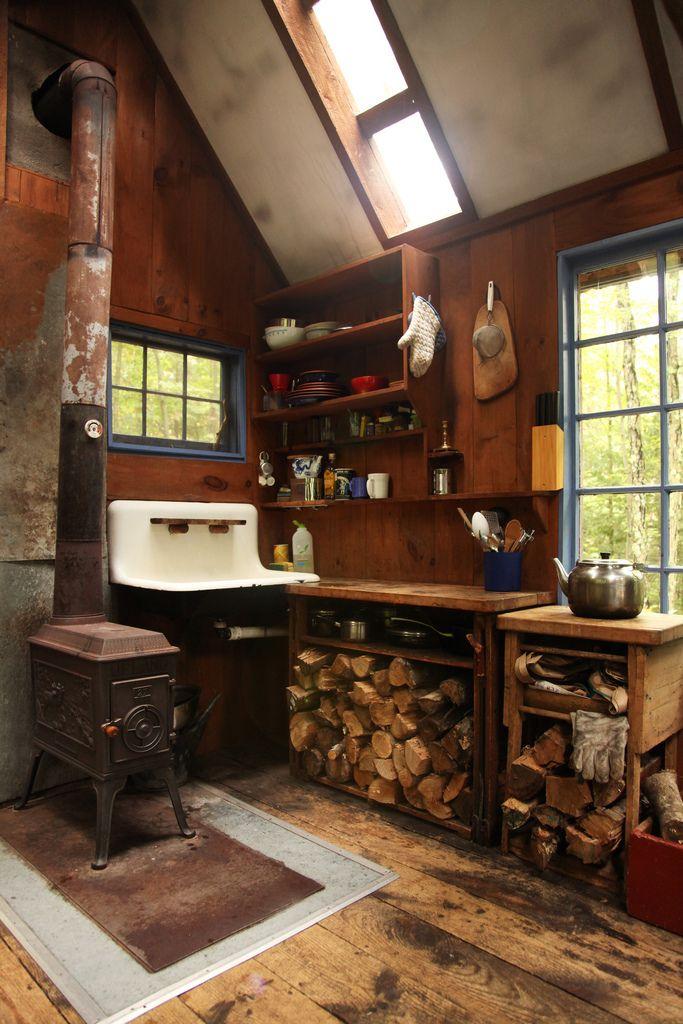 Idee Deco Interieur Cabane En Bois Frais Collection Kitchen Love Pinterest