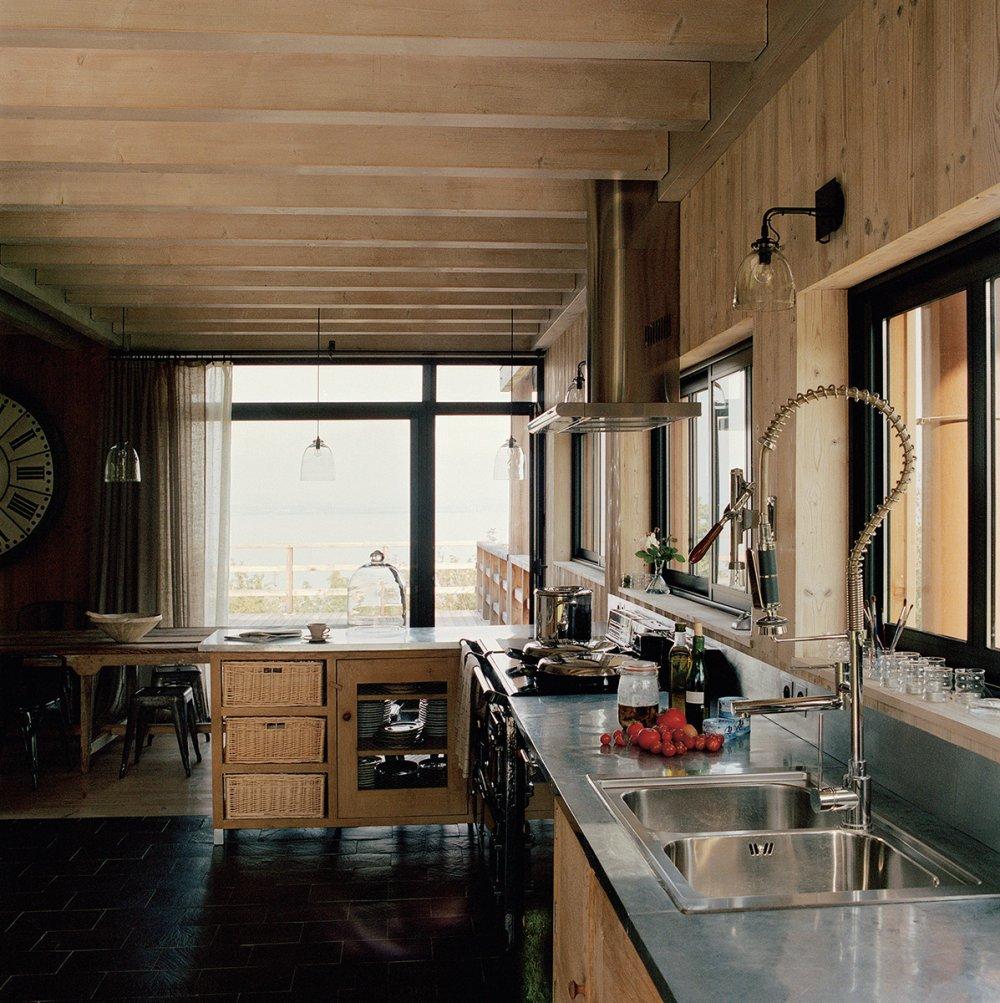 Idee Deco Interieur Cabane En Bois Inspirant Image Cuisine Moderne Pays Idees De Decoration Con Decoration Interieur